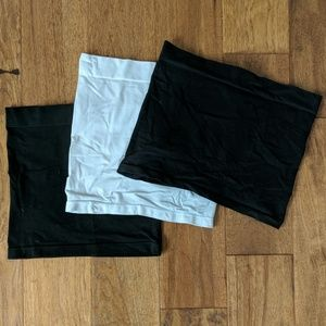 Pants - Set 3 Maternity Belly Bands Black & White sz Small